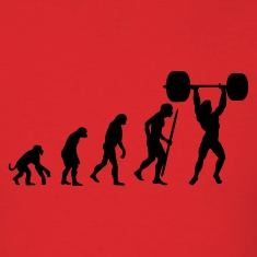 Evolution of pumping iron T-Shirts