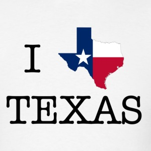 I Texas Texas T-Shirts - Men's T-Shirt