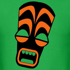 freaky tiki upright stretched in horror! T-Shirts - Men's T-Shirt