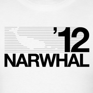 Narwhal 2012 Black T-Shirts - Men's T-Shirt
