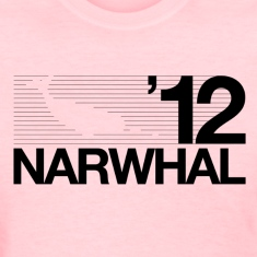 Narwhal 2012 Black Women's T-Shirts