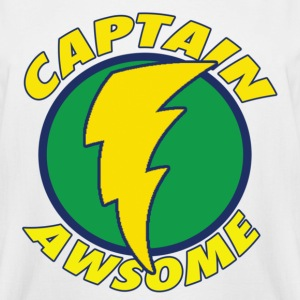 Chuck Captain Awsome 2 Med T-Shirts - Men's Tall T-Shirt
