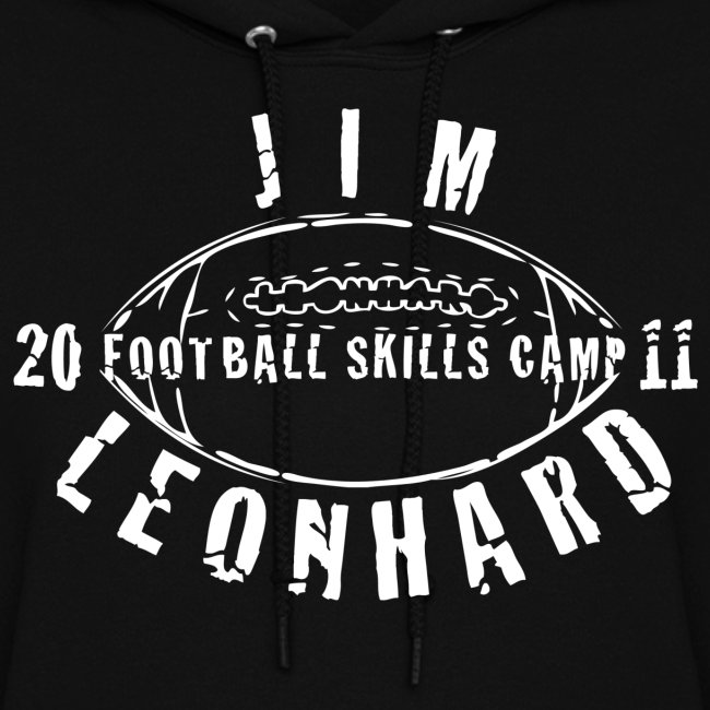 2011 Jim Leonhard Football Skills Camp Women's Hoodie