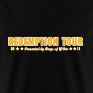 Design ~ Redemption Tour -- men's standard
