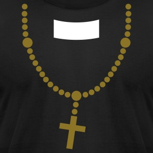 Priest (place on black) T-Shirts - Men's T-Shirt by American Apparel