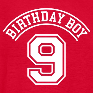 Birthday boy 9 year Kids' Shirts - Kids' T-Shirt