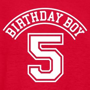Birthday boy 5 years Kids' Shirts - Kids' T-Shirt
