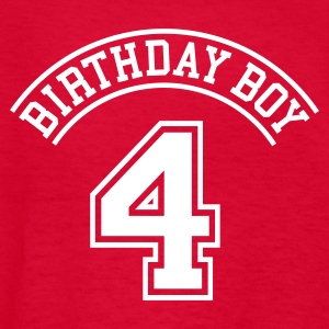 Birthday boy 4 years Kids' Shirts - Kids' T-Shirt
