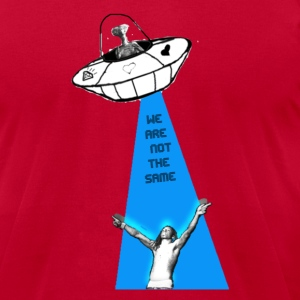 Martians the Same T-Shirts - Men's T-Shirt by American Apparel