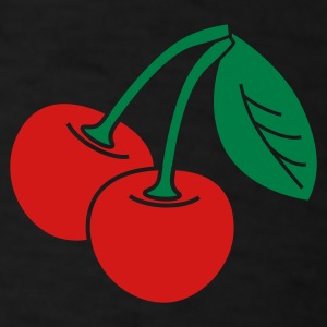 cherries v2_2_color - Men's T-Shirt