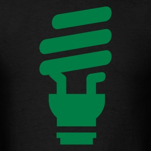 Fluorescent Light Bulb - Men's T-Shirt