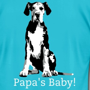 Stan Merle Great Dane Puppy T-Shirts - Men's T-Shirt by American Apparel