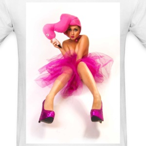 PXE and the Flamingo Hat T-Shirts - Men's T-Shirt