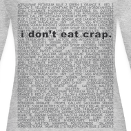 Design ~ i don't eat crap