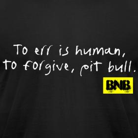 Design ~ To Err is Human Men's Tee (Black)