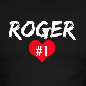 Roger number 1 T-Shirts - Men's Ringer T-Shirt