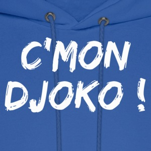 Come on Djoko ! Hoodies - Men's Hoodie