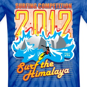 2012 Surfing Competition T-Shirts - Unisex Tie Dye T-Shirt
