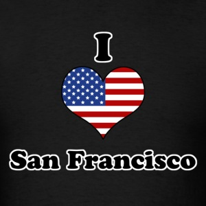 I love San Francisco T-Shirts - Men's T-Shirt
