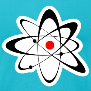 atom T-Shirts - Men's T-Shirt by American Apparel