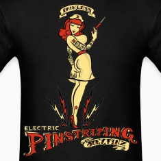 Painless Electric Pinstriping Shirt