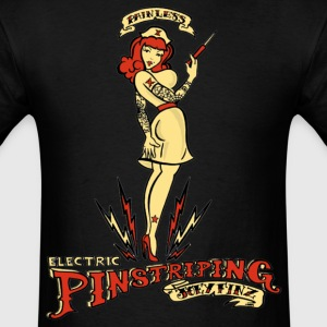 Painless Electric Pinstriping Shirt - Men's T-Shirt