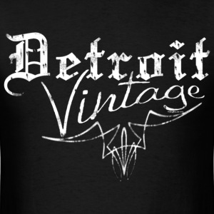 Detroit Vintage Shirt - Men's T-Shirt
