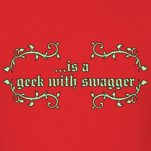 geekwithswagger T-Shirts - Men's T-Shirt