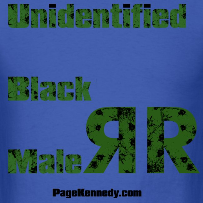 Unidentified Black Male