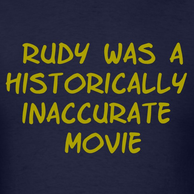 Rudy was inaccurate