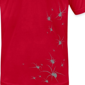 SPIDERS! Widows Gray Beta - Men's T-Shirt by American Apparel