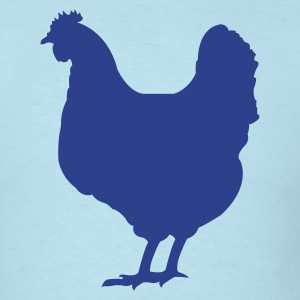 Chicken - Men's T-Shirt
