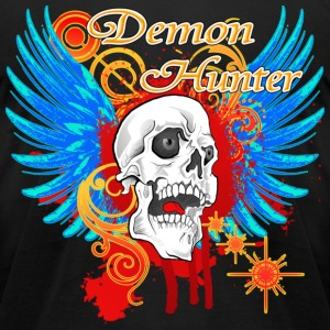 New Demon Hunter Death Angel T-Shirts - Men's T-Shirt by American Apparel