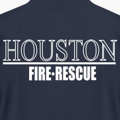 Houston Fire Rescue Back