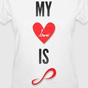 Infinite - My Love is Infinite - Women's T-Shirt
