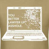 Design ~ Lawyer Up Unisex V-Neck