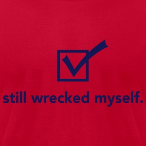check_yourself T-Shirts - Men's T-Shirt by American Apparel