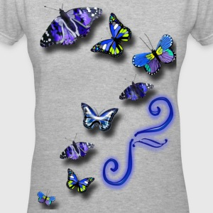 follow_catrice Women's T-Shirts - Women's V-Neck T-Shirt