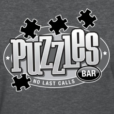 Puzzles Bar Women's Standard Weight T-Shirt