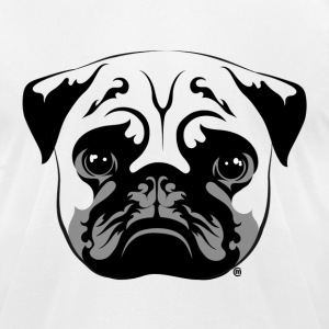 PUG - Men's T-Shirt by American Apparel