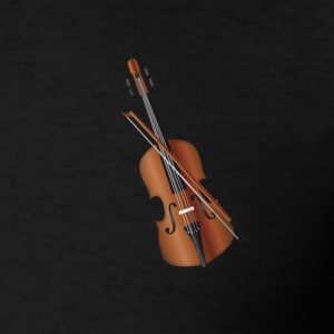 violin T-Shirts - Men's T-Shirt