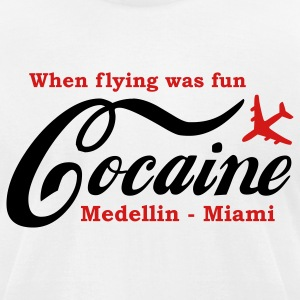 When flying was fun T-Shirts - Men's T-Shirt by American Apparel