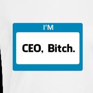 Design ~ CEO, Bitch Women's V-Neck