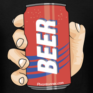 Design ~ Beer in Hand T-Shirt