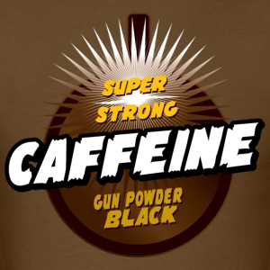 Gun powder black caffeine - Men's T-Shirt