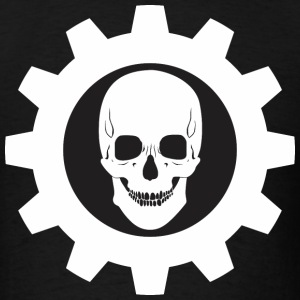 Skull Gear v1W Black - Men's T-Shirt