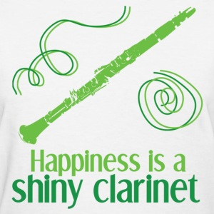 Shiny Clarinet - Women's T-Shirt