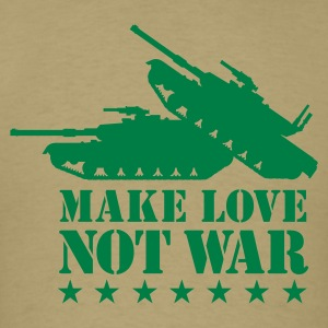 Make love not war 1clr T-Shirts - Men's T-Shirt