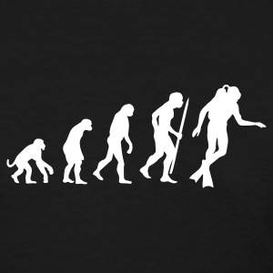 Evolution of Scuba diving Women's T-Shirts - Women's T-Shirt