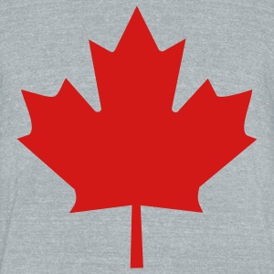 Maple Leaf T-Shirts - Unisex Tri-Blend T-Shirt by American Apparel